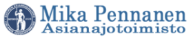 Asianajaja Helsinki |Asianajotoimisto Mika Pennanen Oy Logo